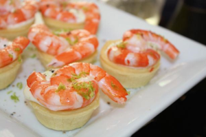 shrimp tortes