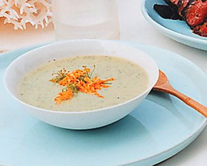 chilled zuccini soup