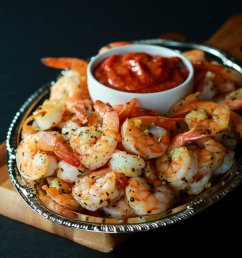 roasted-shrimp-with-homemade-cocktail-sauce-e1418755986519