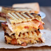 chpotle chicken bacon ranch panini