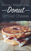 maple bacon grilled donut