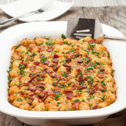 cheesy tater tot bake