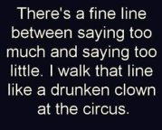 drunken clown