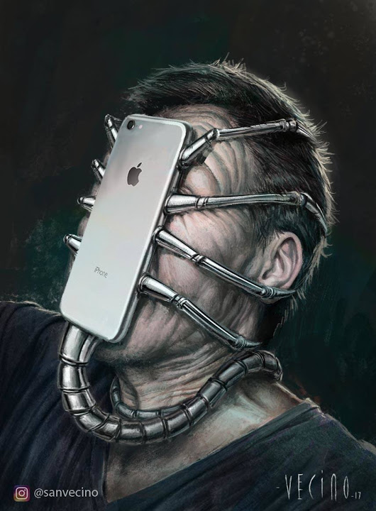 iphone facehugger
