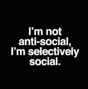 selectively social