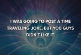 time travel joke
