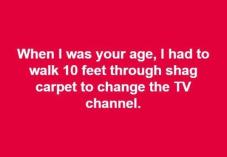 shag carpet