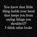 mine broke
